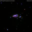 Arp84 ngc5395    ngc5394  galassia nei cani venatici                                             distanza 150 milioni  A.L.,                                Carlo Colombo