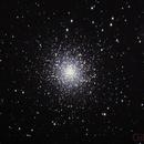 M13 Great Hercules Globular Cluster,                                Gilbert Ikezaki