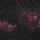 Heart and Soul Nebulae,                                Kyle Floros