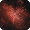 Eagle nebula LHa-HaOIII,                                Maniersch