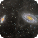 M 81 and M 82 with Integrated Flux Nebula,                                flyingairedale