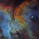 NGC6188,                                Philippe BERNHARD