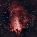 M17 Omega Nebula,                                Karoy Lorentey