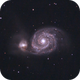 M51 - Whirlpool Galaxy,                                Hayden Herzberger