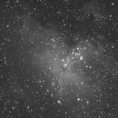 M16, la nébuleuse de l'Aigle et les célèbres Piliers de la Création,                                Philastro