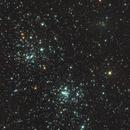 C/2017 T2 (PANSTARRS) near Double Cluster,                                alesterre