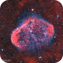 NGC 6888 - LA nébuleuse du croissant en HaOO,                                Séb GOZE
