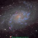 M33 The Triangulum galaxy,                                Aaron