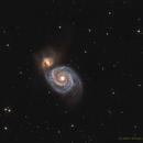 Messier M51 Whirlpool Galaxy,                                Daniel Weitendorf
