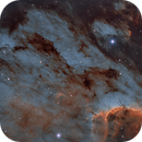 Pelican Nebula (IC 5070) in the Hubble Palette,                                Chuck's Astrophot...