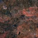 Crescent Nebula and Sadr Region,                                dkuchta5