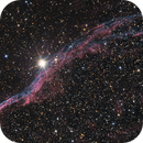 NGC 6960 in Cygnus,                                Nurinniska