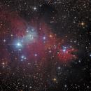 Cone Nebula - NGC2264 - LRGB,                                Thomas Richter