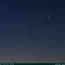 Mars, Saturn & Jupiter,                                David Brodie