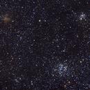 NGC 663,  IC 166, NGC 654,                                Gilles Chapdelaine