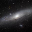 Andromeda - 3 Panel Mosaic,                                Matt Harbison