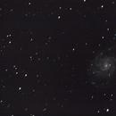 galaxie du moulinet M101,                                david30