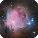 Great Orion Nebula with the 130PDS in RGB and iR,                                alexbb