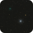C/2020 T2 Palomar and M3,                                Yuriy Oseyev