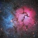 M20 The Trifid Nebula,                                Kevin Parker