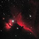 Horsehead and Flame Nebulae (HOO) (2019),                                Daniel Tackley