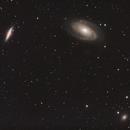 M81, M82, NGC3077,                                Eric Dreher