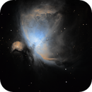M42 - My first astrophotograph!,                                Nathan