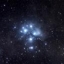 M45 Pleiades,                                Starblazer