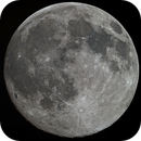 The 99% illuminated Moon in Color,                                astropical
