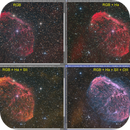 Crescent Nebula Processing Sequence,                                KuriousGeorge