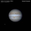 1/22 Jupiter & Moons GIF,                                Damien Cannane