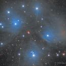 M45 in LRGB,                                Scott