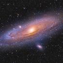 Andromeda Galaxy,                                Manfred Schlosser