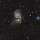 M51 Whirlpool Galaxie,                                Jürgen Eggenberger
