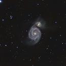 M51 in HaLRGB,                                NewfieStargazer