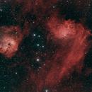 IC 405 and 410,                                David Johnson