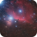 NGC 2023, Horsehead nebula, IC 434,                                noodle