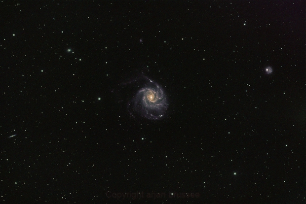 M101 (and friends) widefield with Rasa8,                                arjan brussee