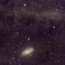 M64 - Black eye galaxy with Integrated Flux Nebula,                                Andre van Zegveld