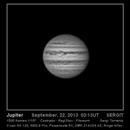Júpiter 22 de septiembre de 2013,                                SERGIT
