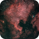North America Nebula on Sharpstar 61 EDPH II with Altair Hypercam 269c (85% moon),                                AstroBillUK