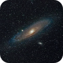 M31 Andromeda Galaxy with Photo Lens,                                Olaf Fritsche