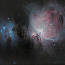 M42 orion nebula,                                MarcoFavuzzi