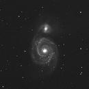 M51 Whirlpool Galaxy,                                JP Griffin