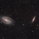 Messier 81 and Messier 82,                                Jenafan