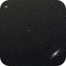Andromeda and Triangulum Galaxies Widefield,                                Keith Hanssen