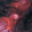 Gabriela Mistral Nebula (NGC 3324) - Narrowband Wide-field,                                Chris