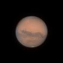 Mars @45° Altitude 10/11/2020 00:08 UTC,                                Falk Schiel