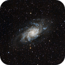 Triangulum Galaxy M33,                                Paul Deeter