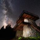 Spruce Knob Tower Milky Way 2019,                                Jeff Ball